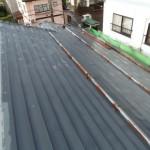 屋根もガルバニュウムに変えました。(befor)